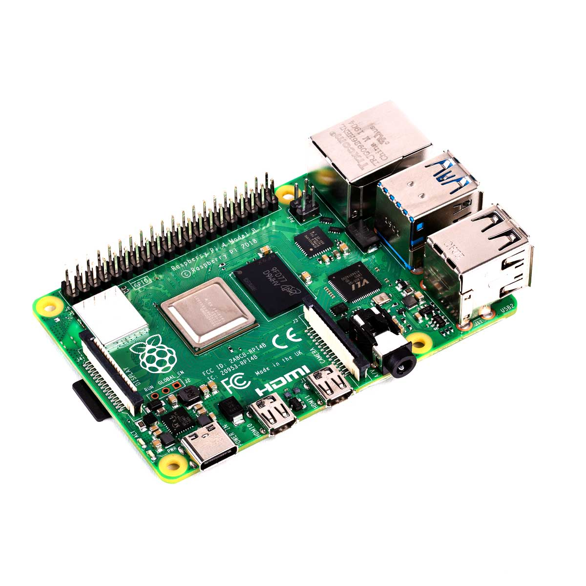 Placa Raspberry Pi 4 Pi4 Model B 2gb (ddr4)