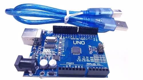 Placa Uno SMD R3 + Cabo para Arduino