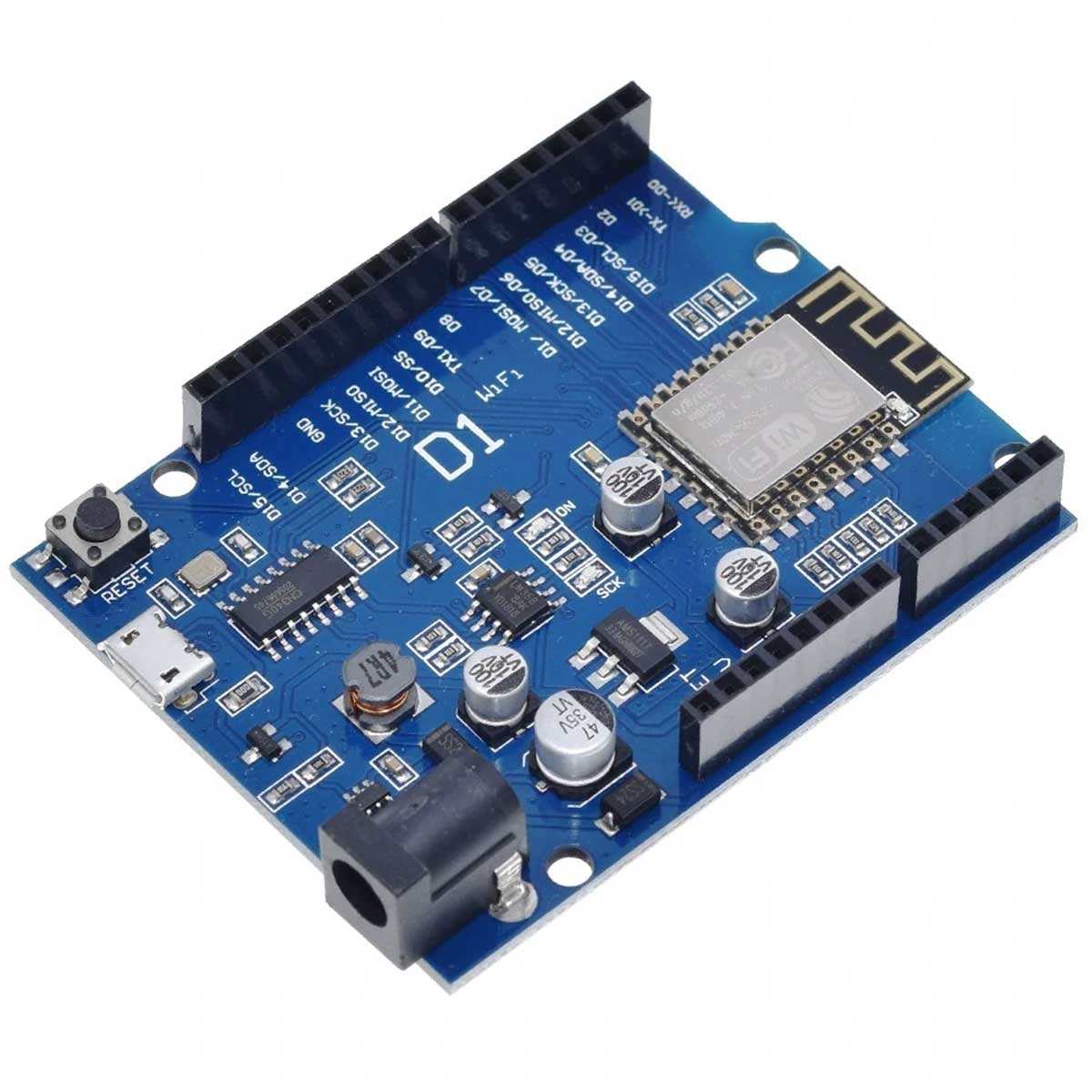 Placa WeMos D1 R2 Wifi ESP8266 compatível com Arduino e ESP8266