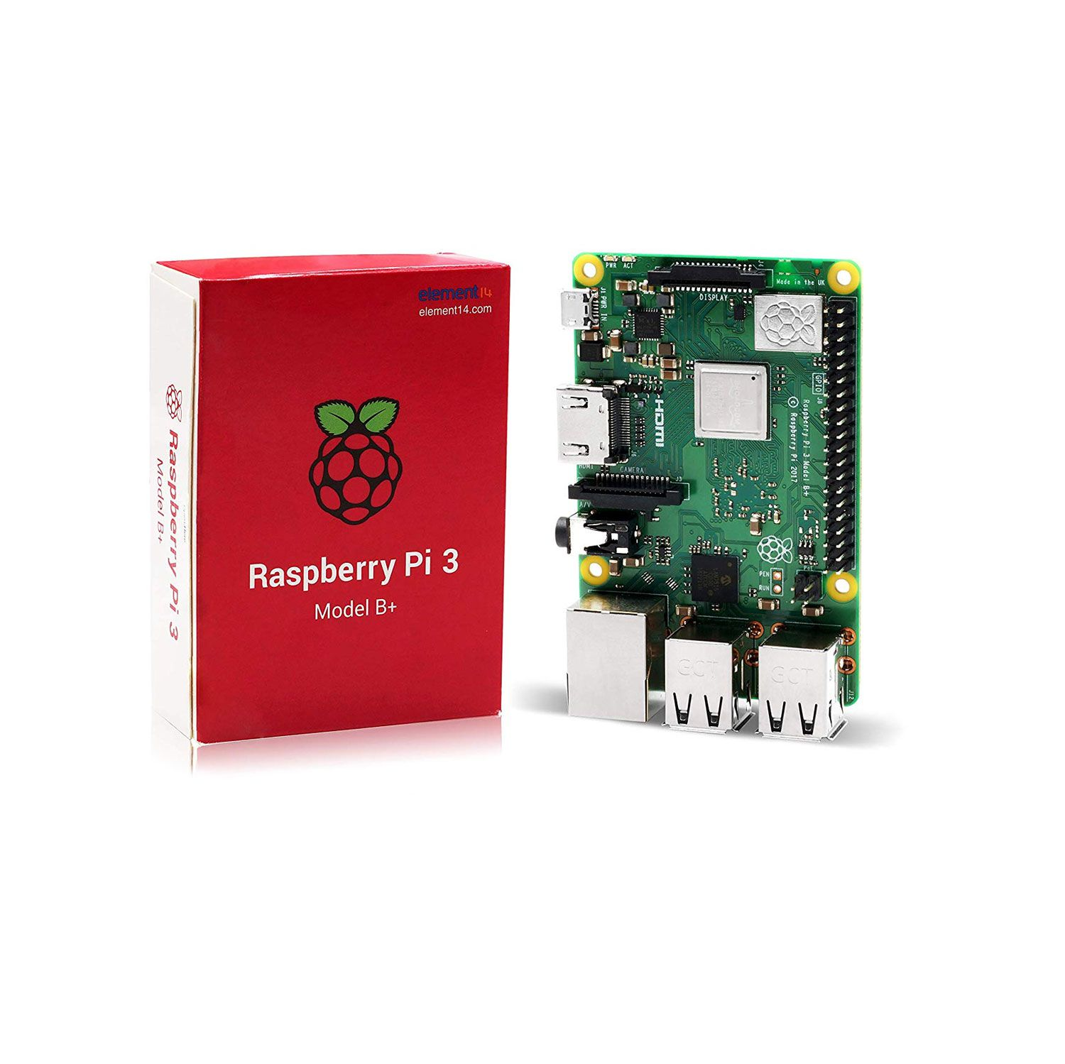 Placa Raspberry Pi 3 B+ 1.4 Ghz 1GB de RAM