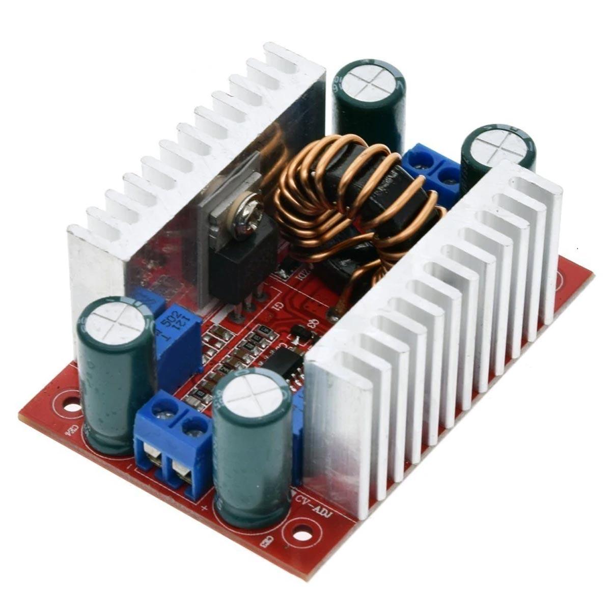 Regulador Tensão / Corrente Step Up Boost 5-50v P/ 10-60v 15a