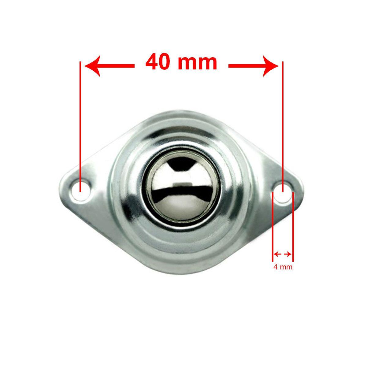 Roda Boba Robot Caster Esfera