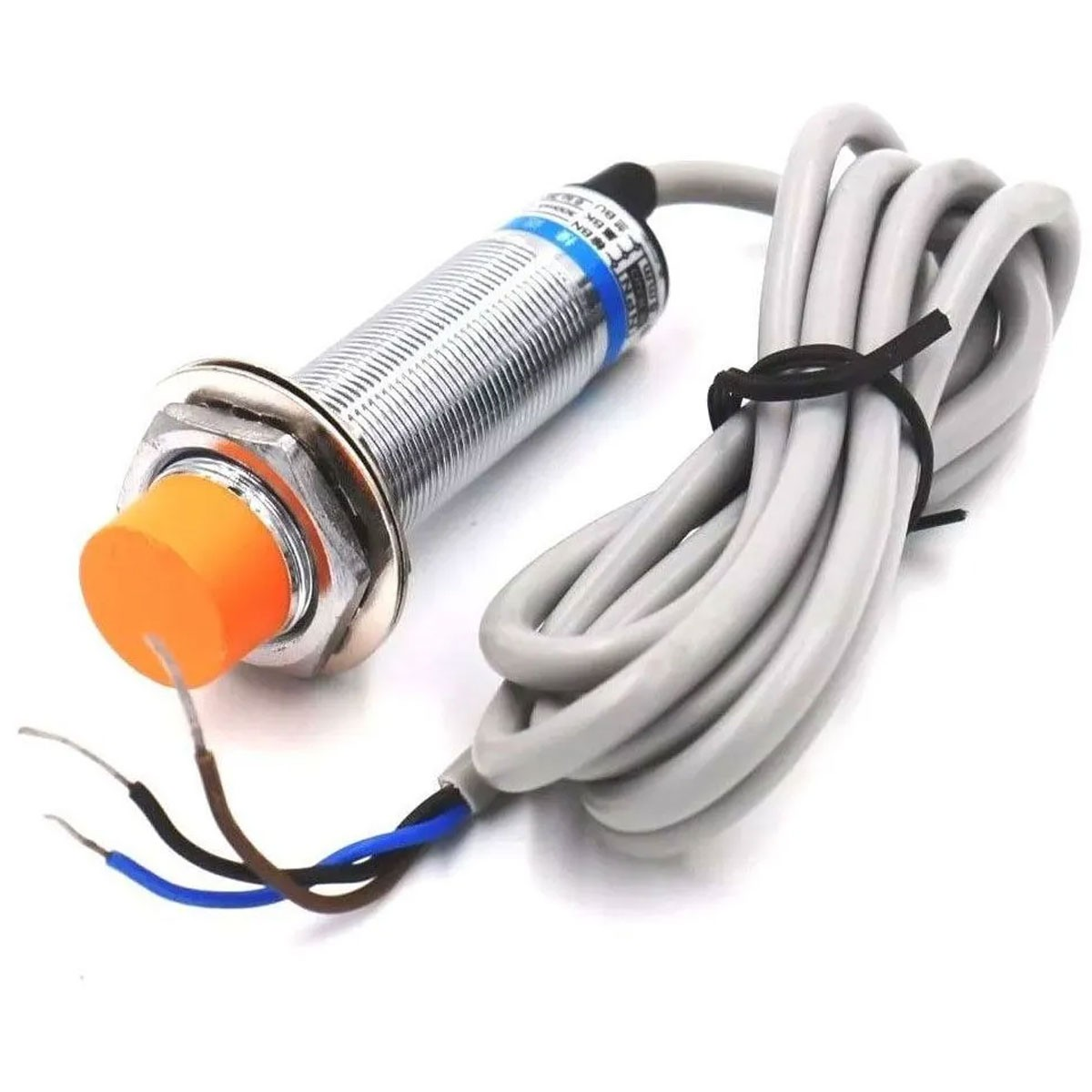 Sensor Capacitivo de Proximidade NPN LJC18A3-8-Z/BX 1mm a 8mm 200ma