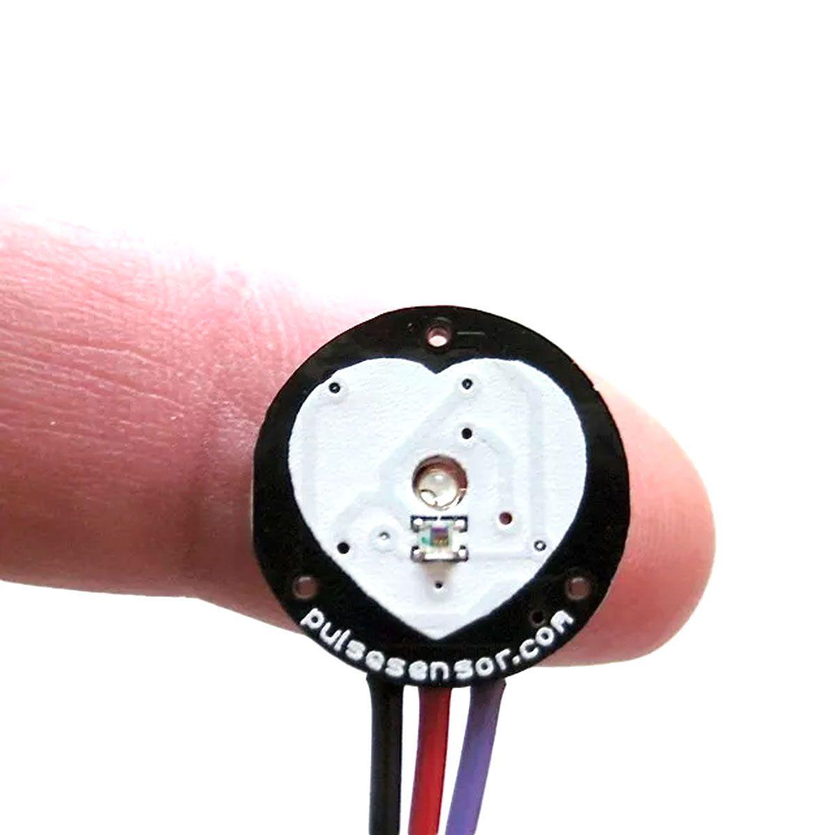 Sensor de Batimento Cardíaco / Monitor de Pulso