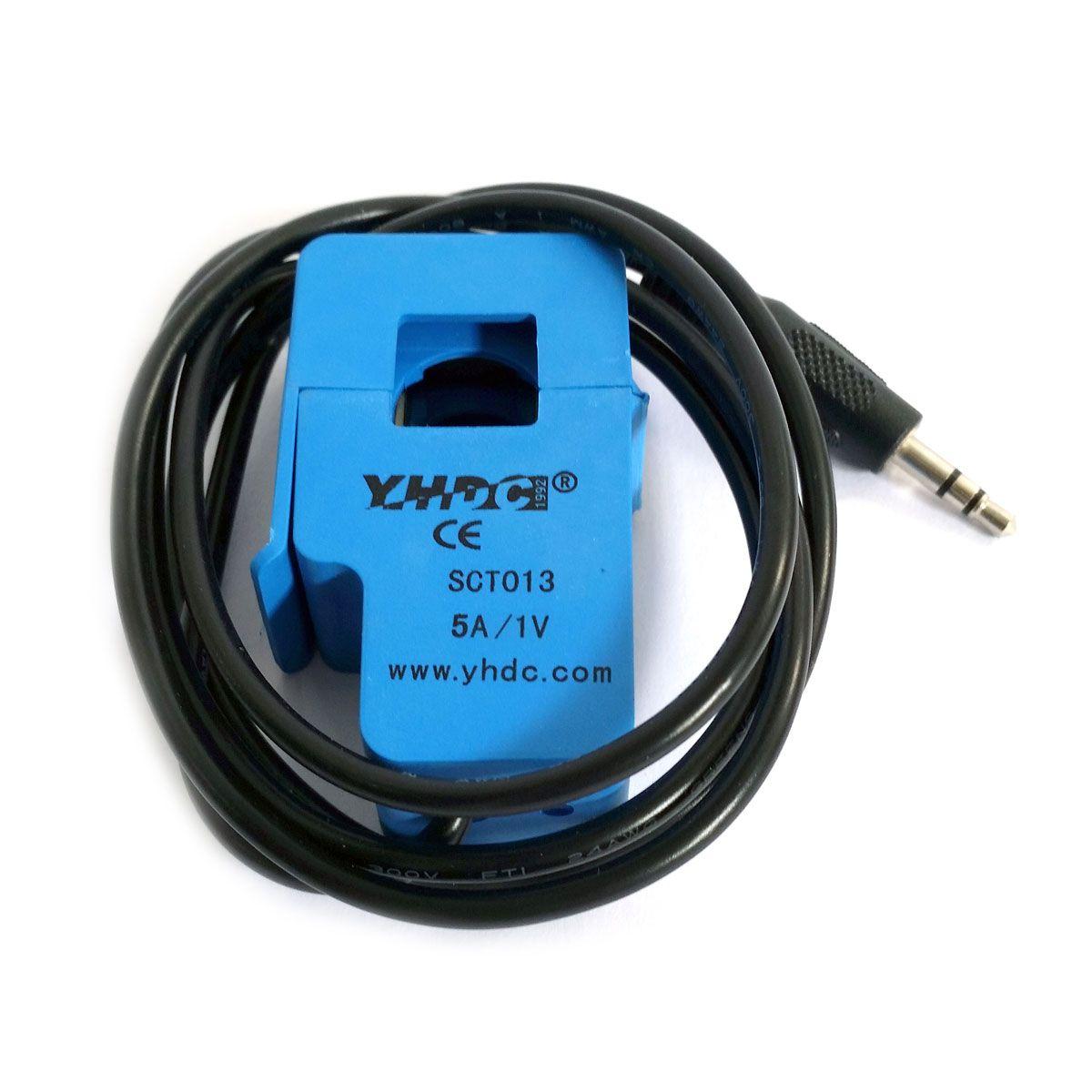 Sensor de Corrente AC Não Invasivo 5A 1V SCT-013