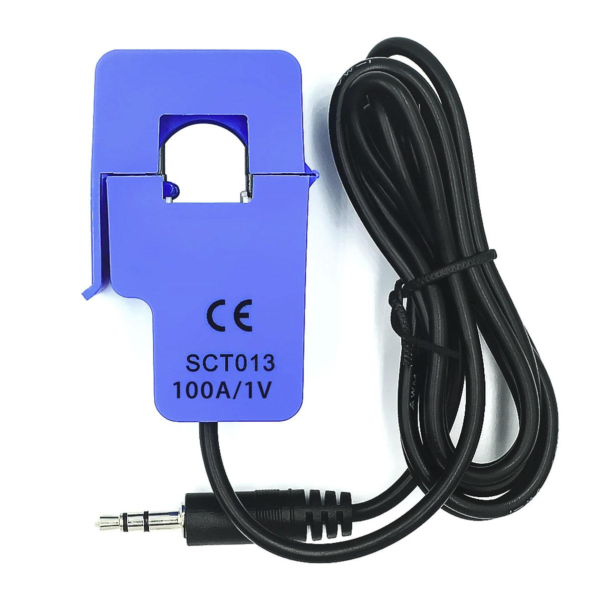 Sensor de Corrente Não Invasivo 100A SCT013 - Saída 1V