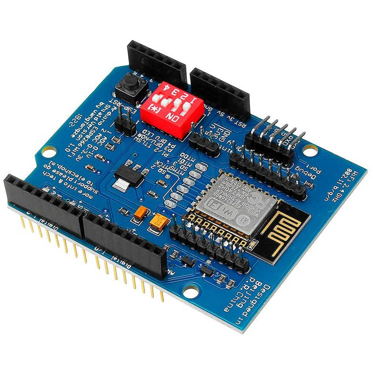Shield ESP8266 ESP12E Wifi para Arduino