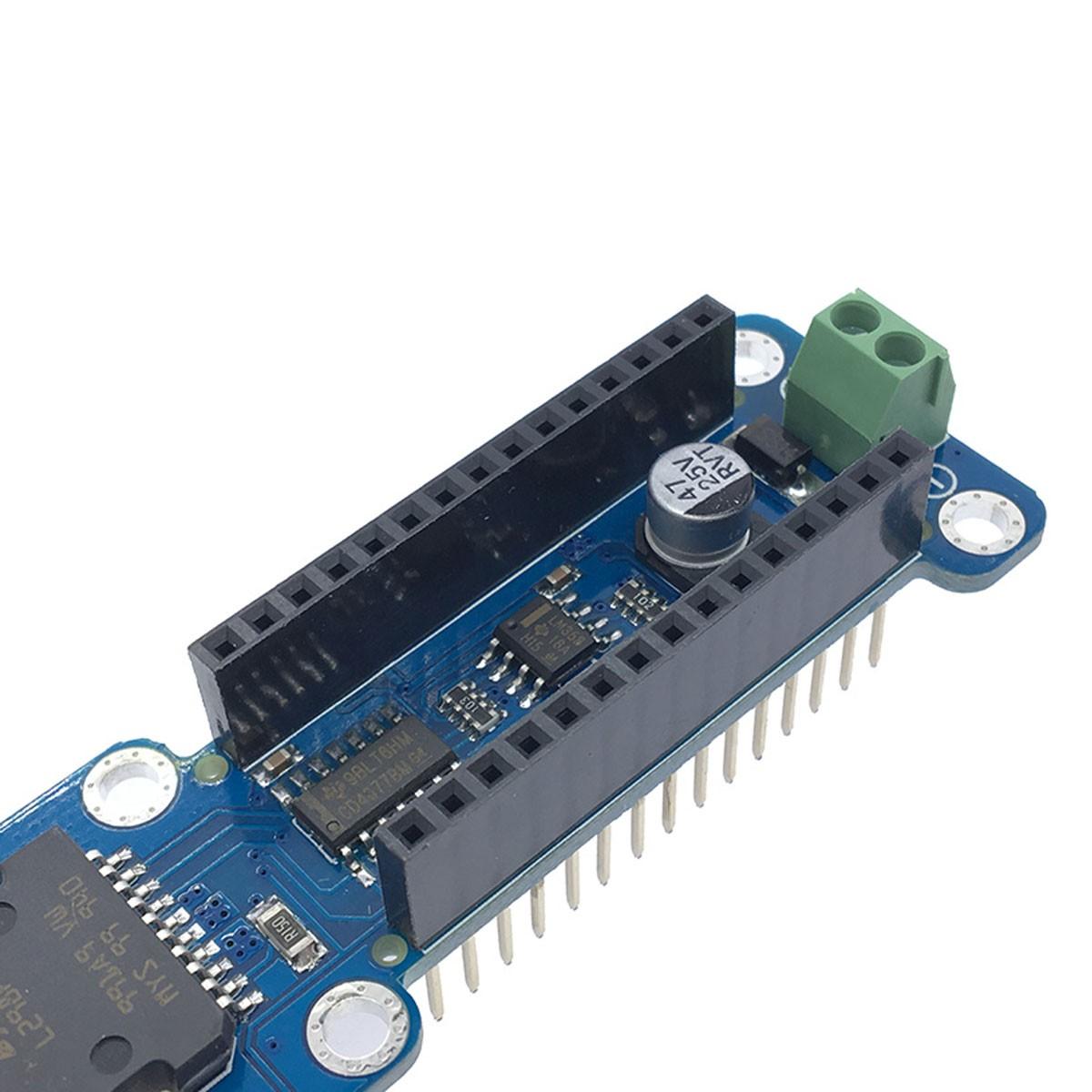 Shield Ponte H dupla L298P para Arduino Nano