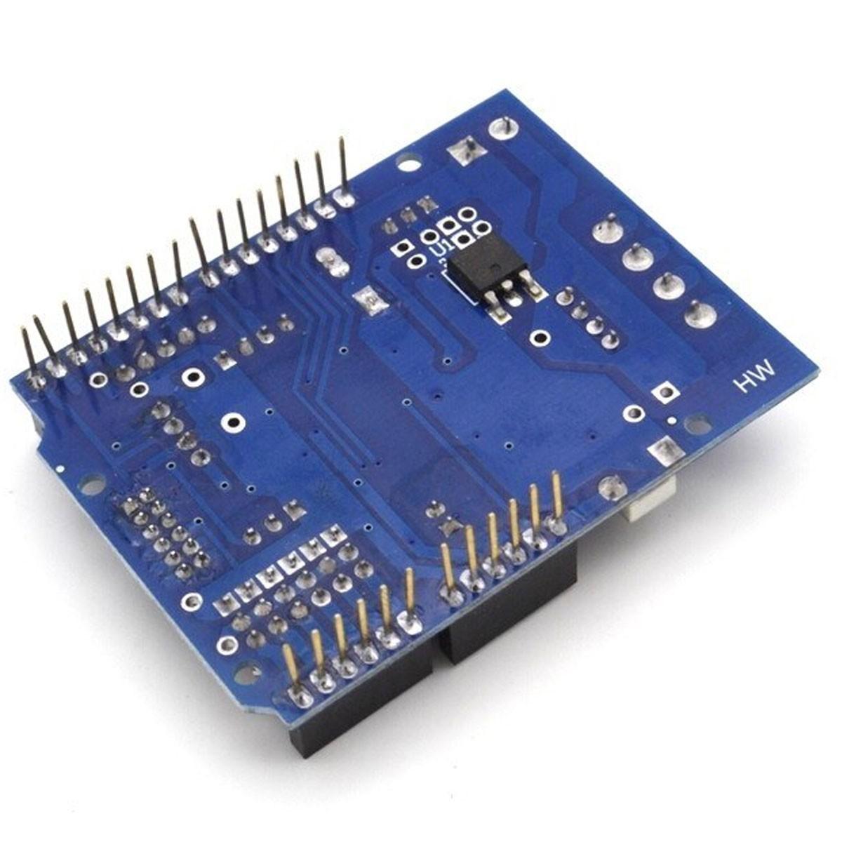 Shield Ponte H L298P com Buzzer para Controle de Motor DC