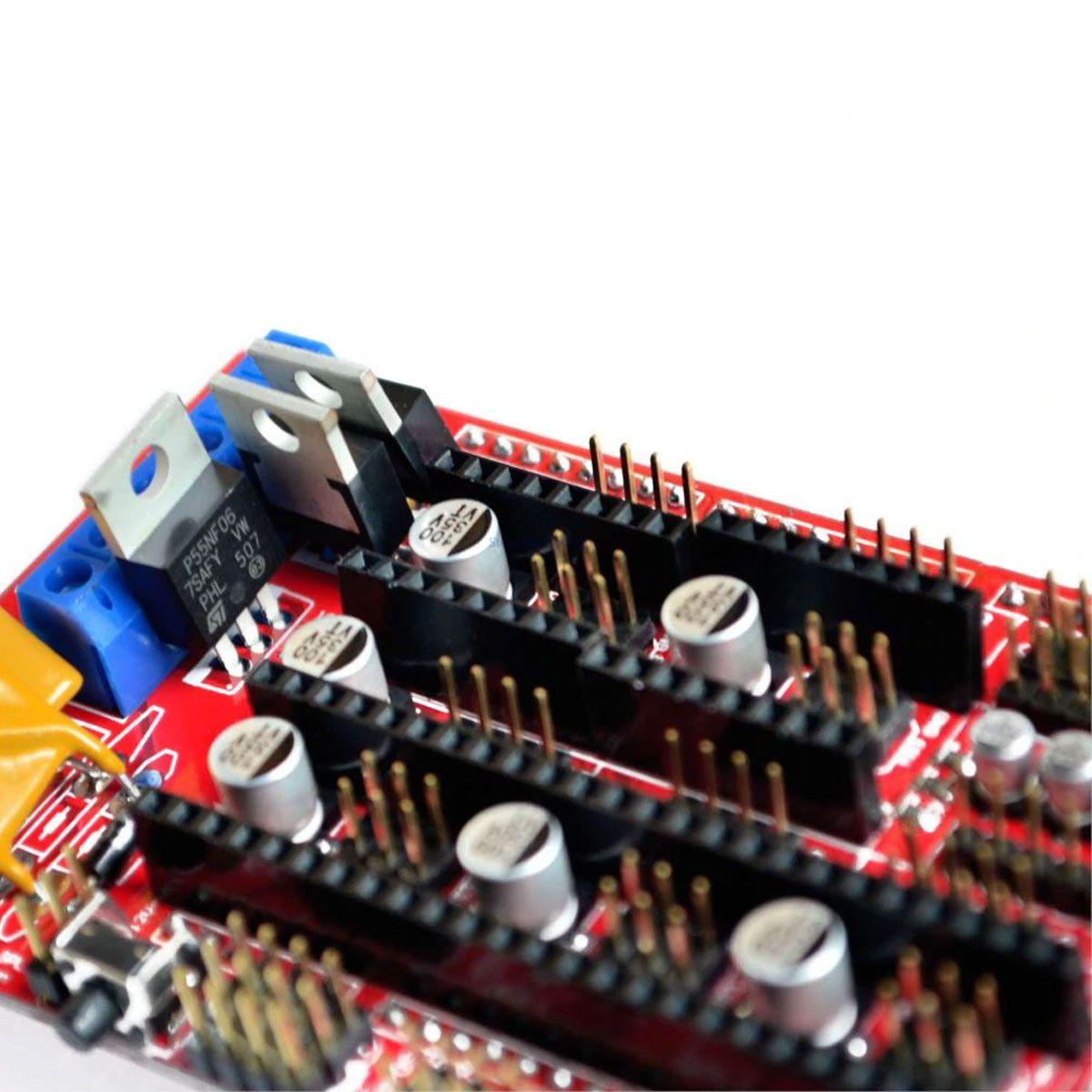 Shield Ramps 1.4 Mega para Impressora 3D Reprap CNC