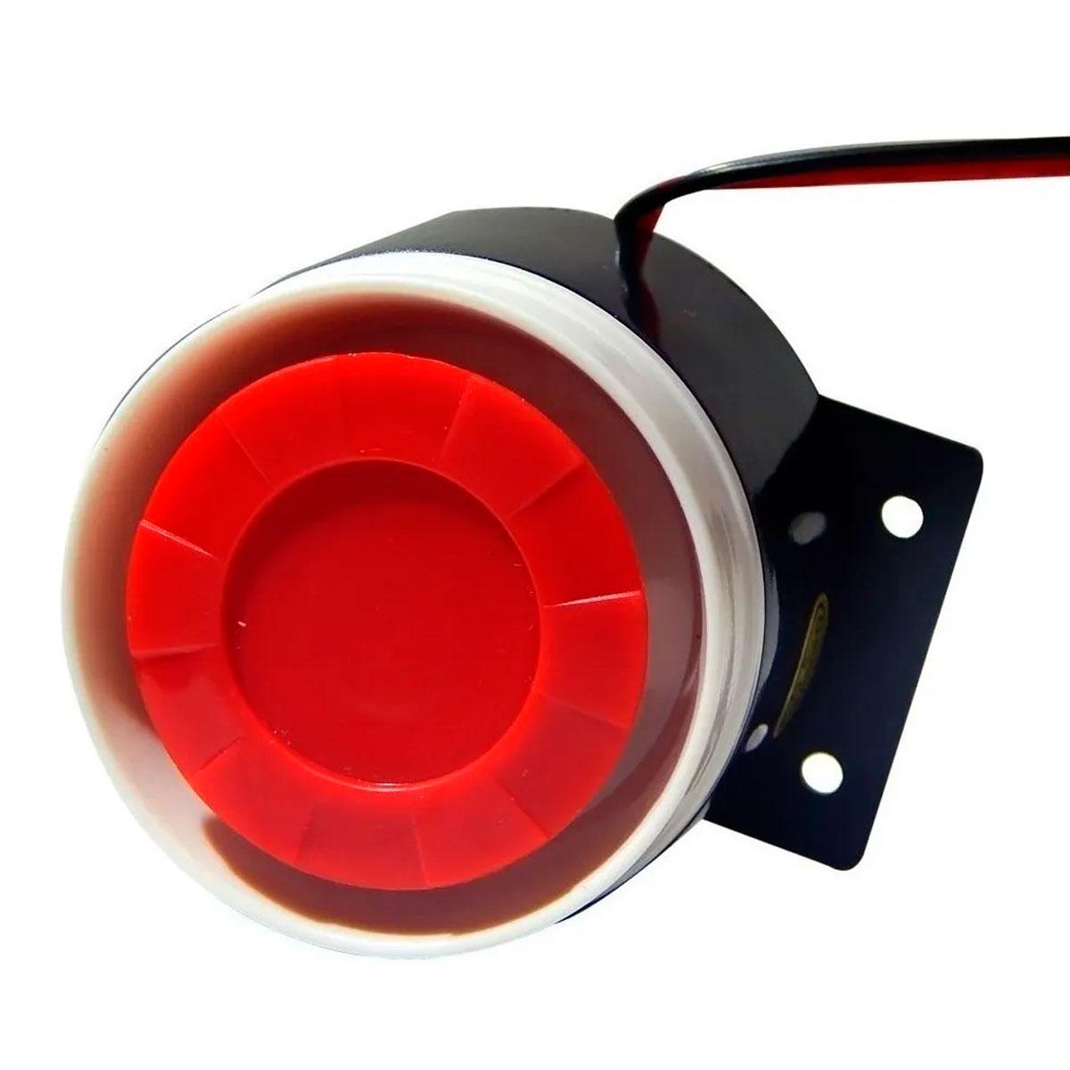 Sirene para Alarme Universal 12V 6 Tons GC GP-06