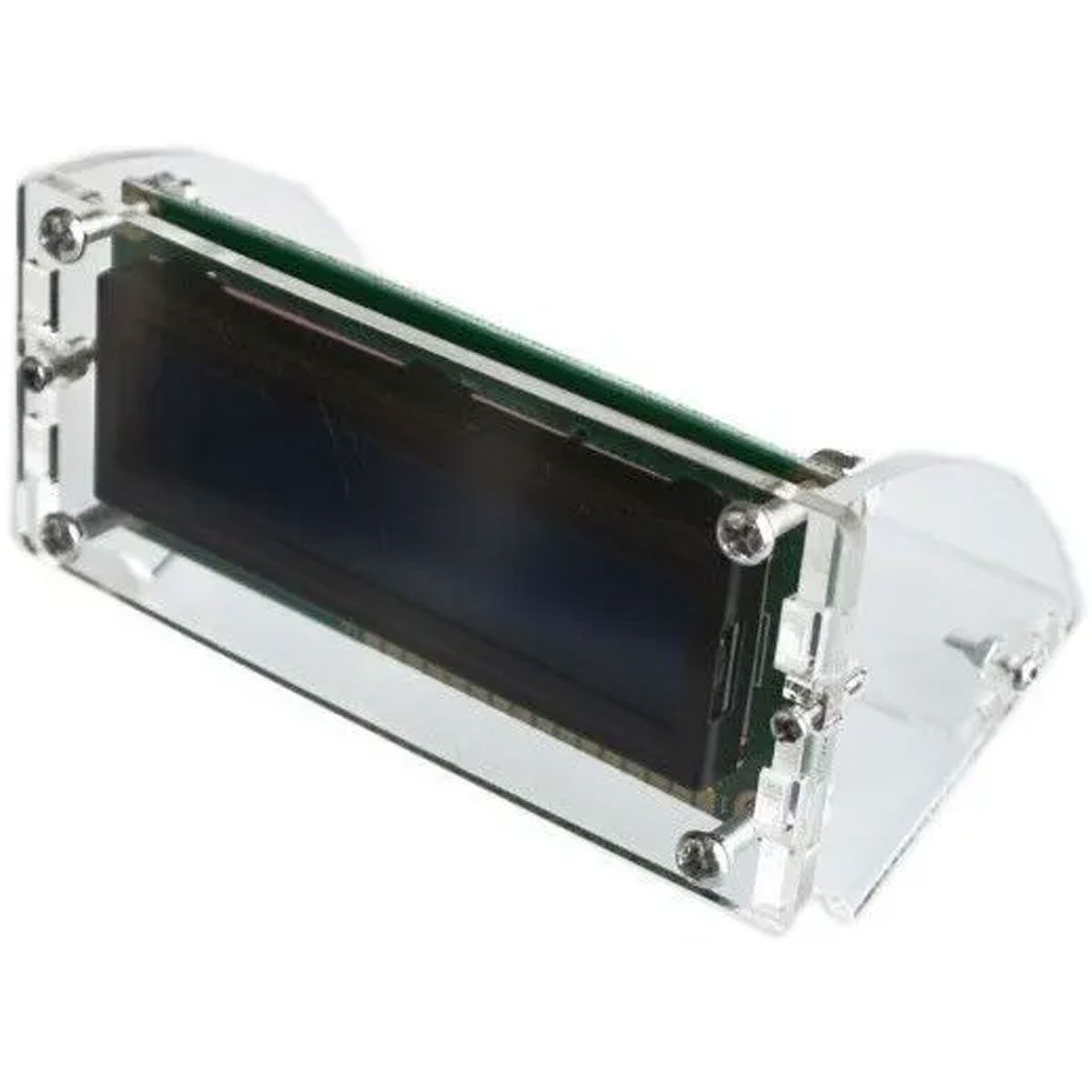 Suporte em Acrílico Transparente para Display Lcd 16x2