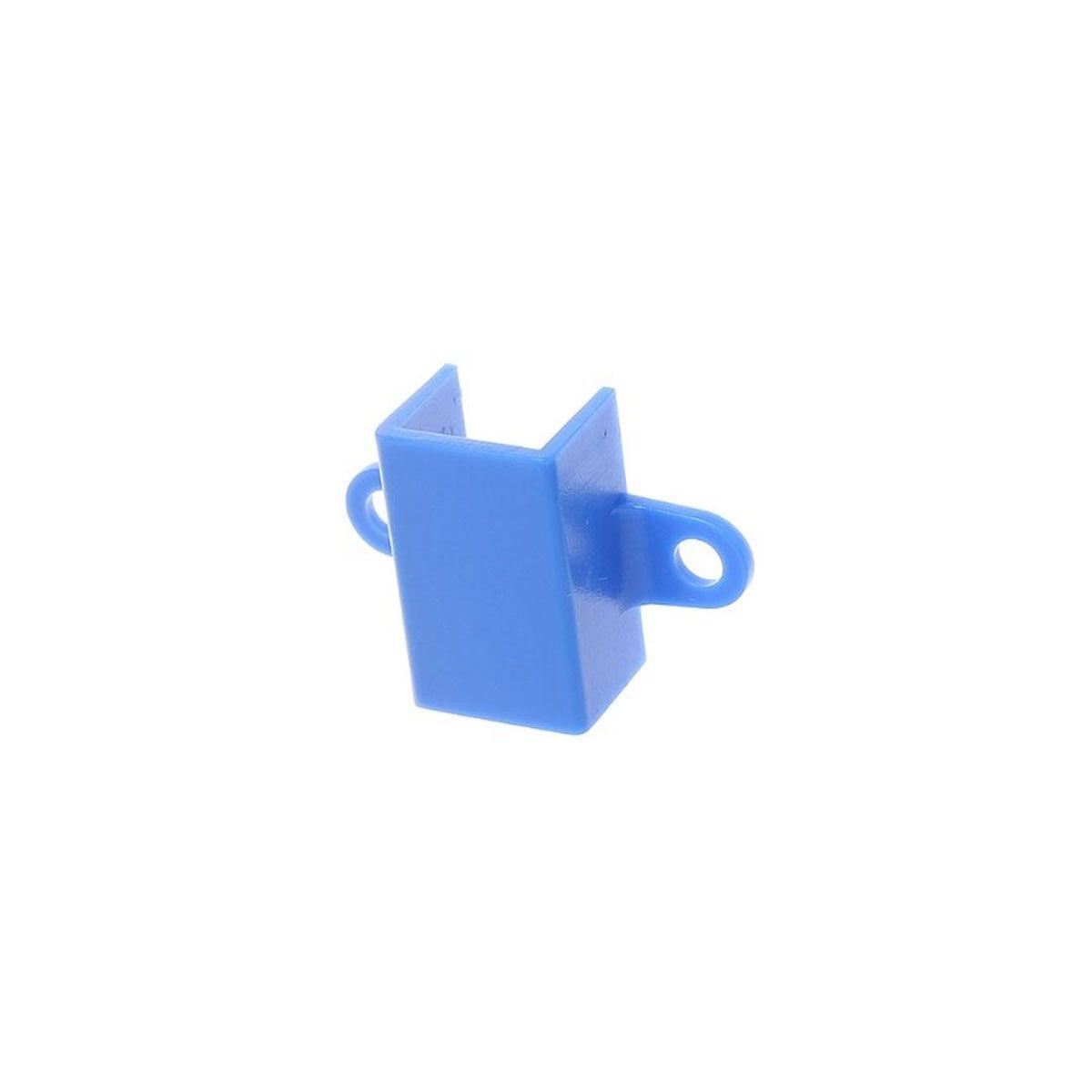 Suporte Plástico para Motor N20 - Cor Azul