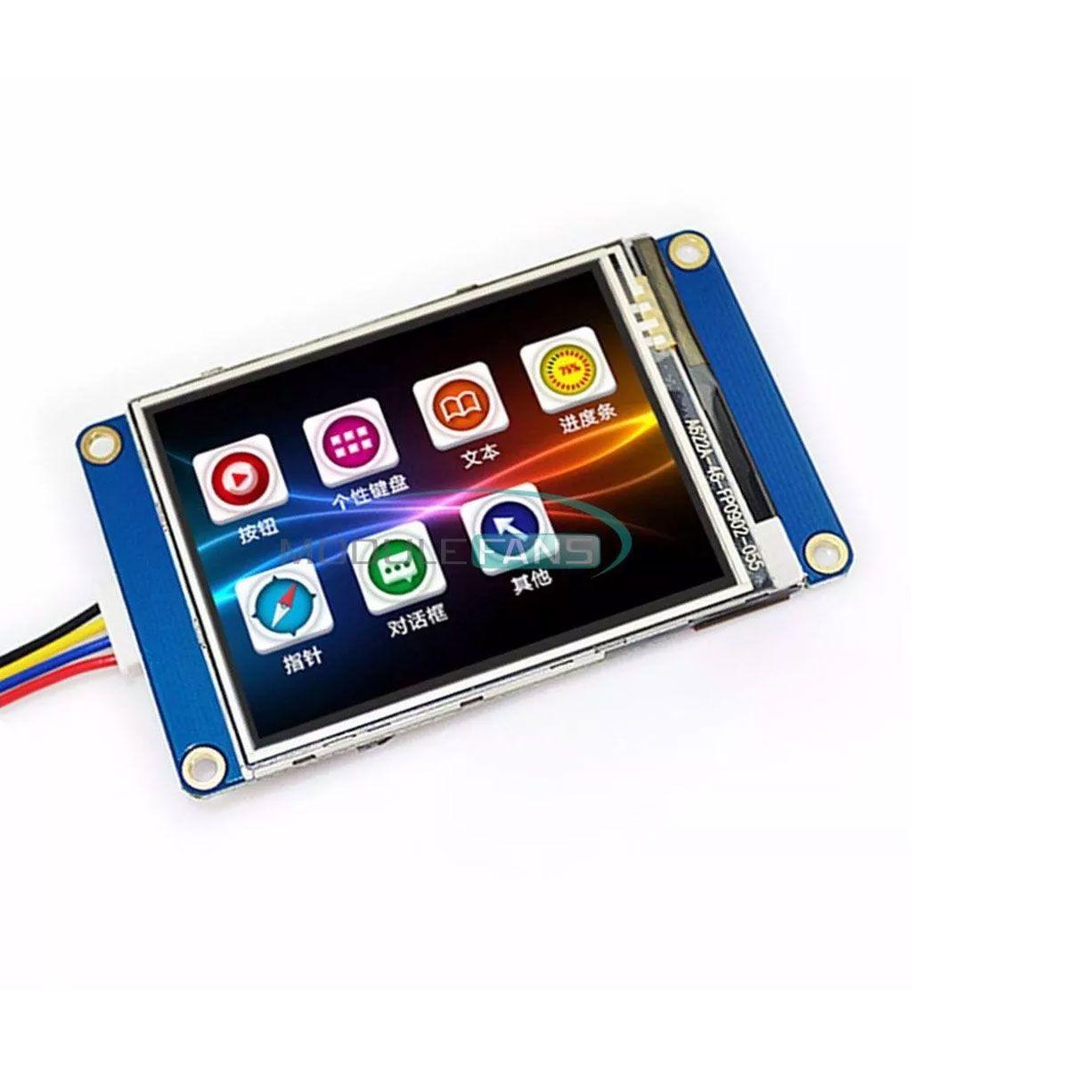 Tela LCD Nextion 2.4 TFT Hmi 320x240 Touch Screen