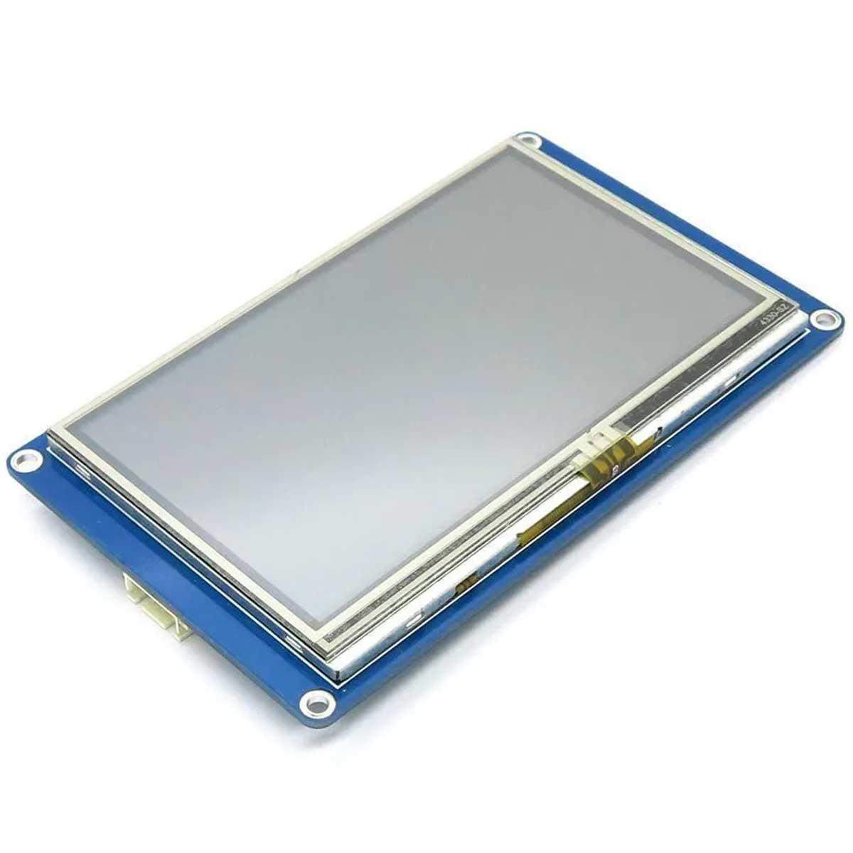 Tela LCD Nextion 4.3 TFT 480x272 Touch Screen Compatível com Arduino, Raspberry, Esp
