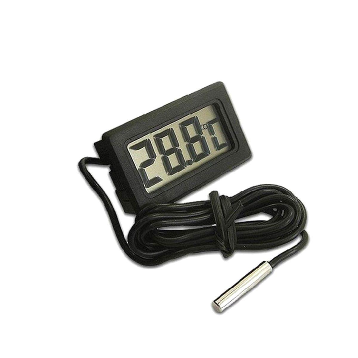 Termômetro Digital com LCD para Aquário, Freezer, Chocadeira, Estufa