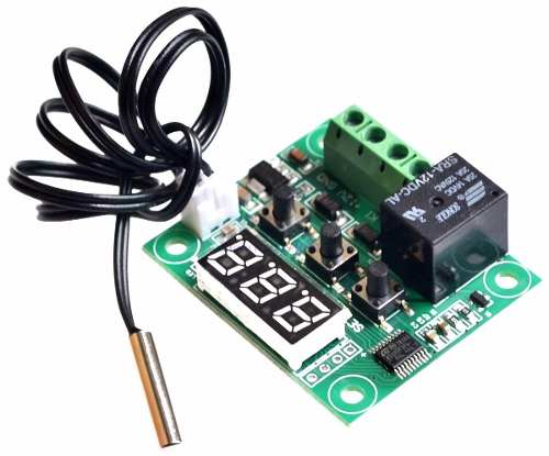 Termostato para Controle de Temperatura W1209 + Case de Acrílico