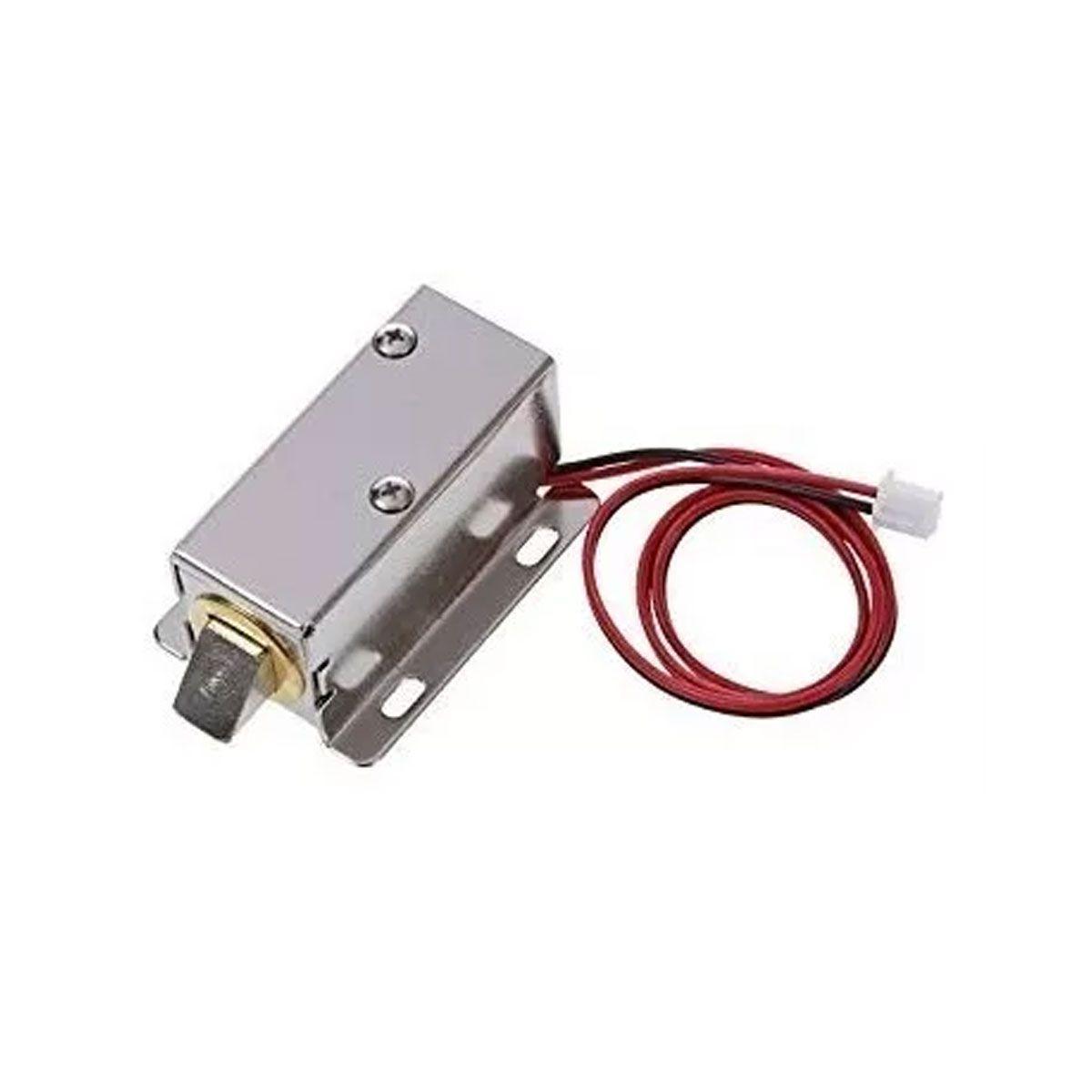 Trava / Fechadura Elétrica Solenoide 12v