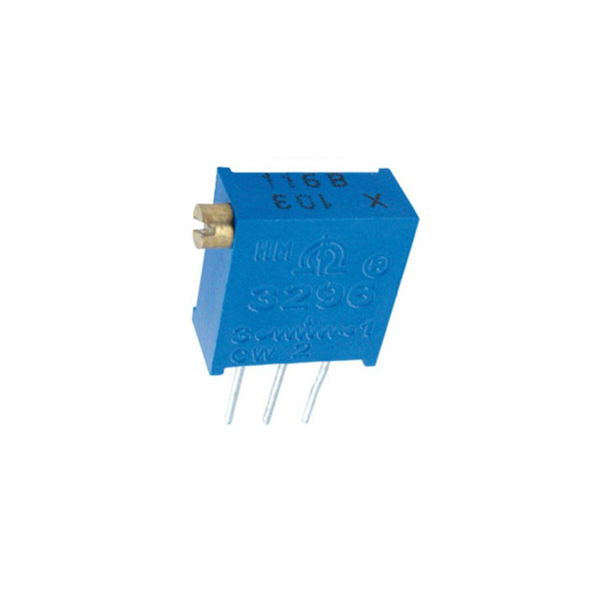 Trimpot / Potenciômetro 10k Multivoltas 3296  - Horizontal