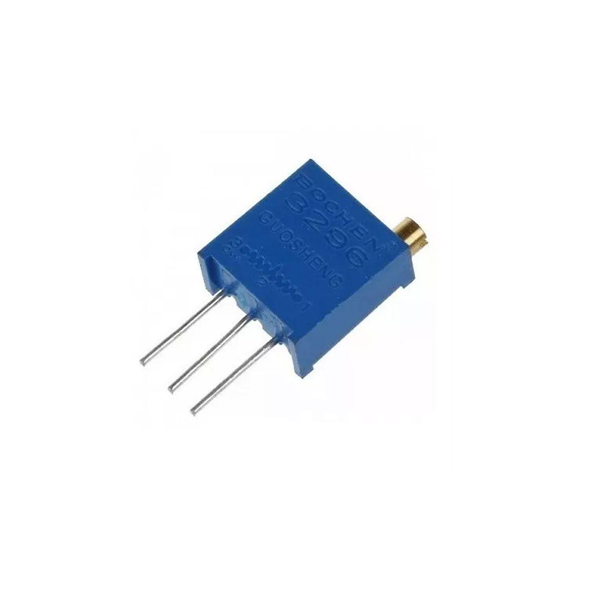 Trimpot / Potenciômetro 10K Multivoltas 3296  - Vertical