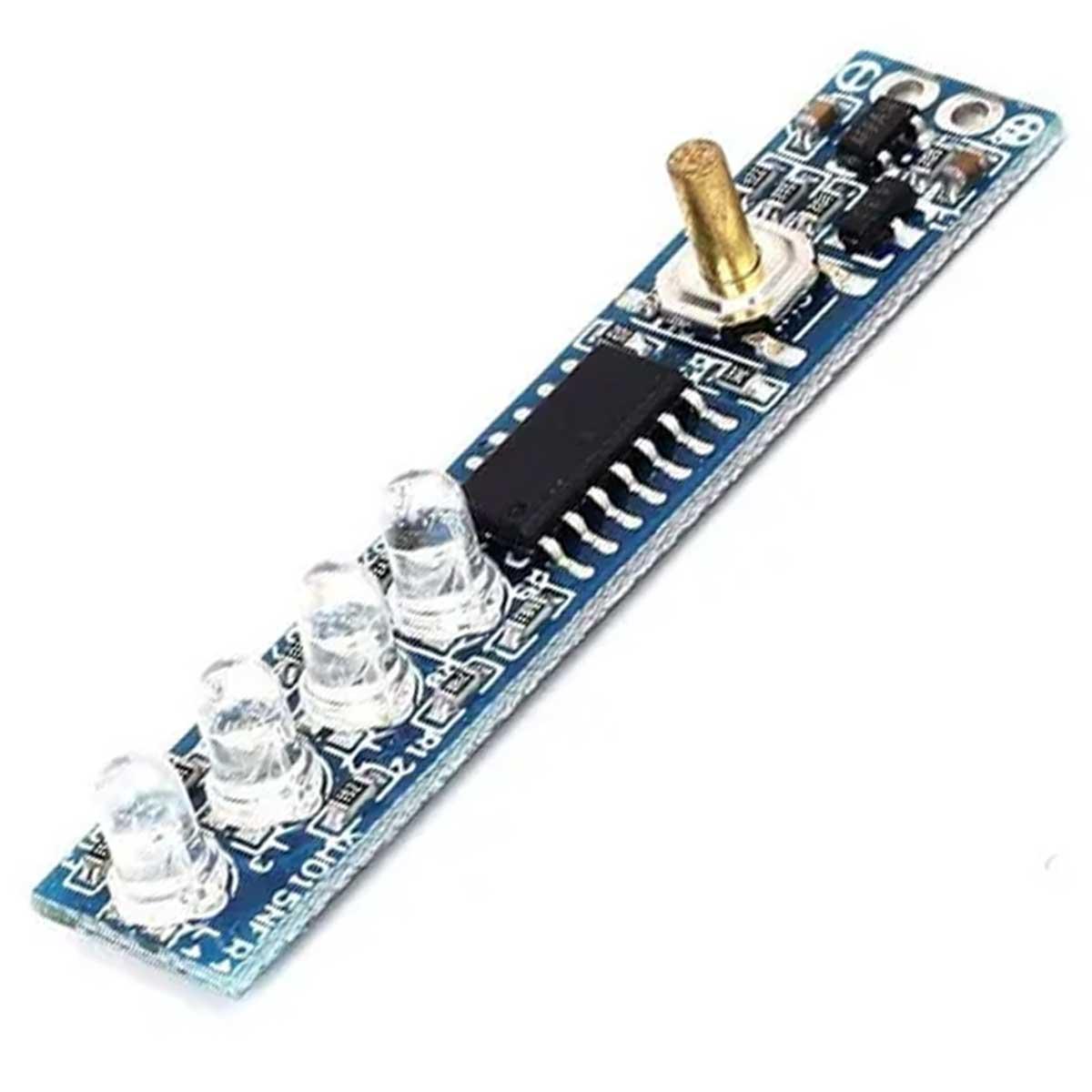 Voltímetro Indicador de Nível de Carga para Baterias 4S 16,8V
