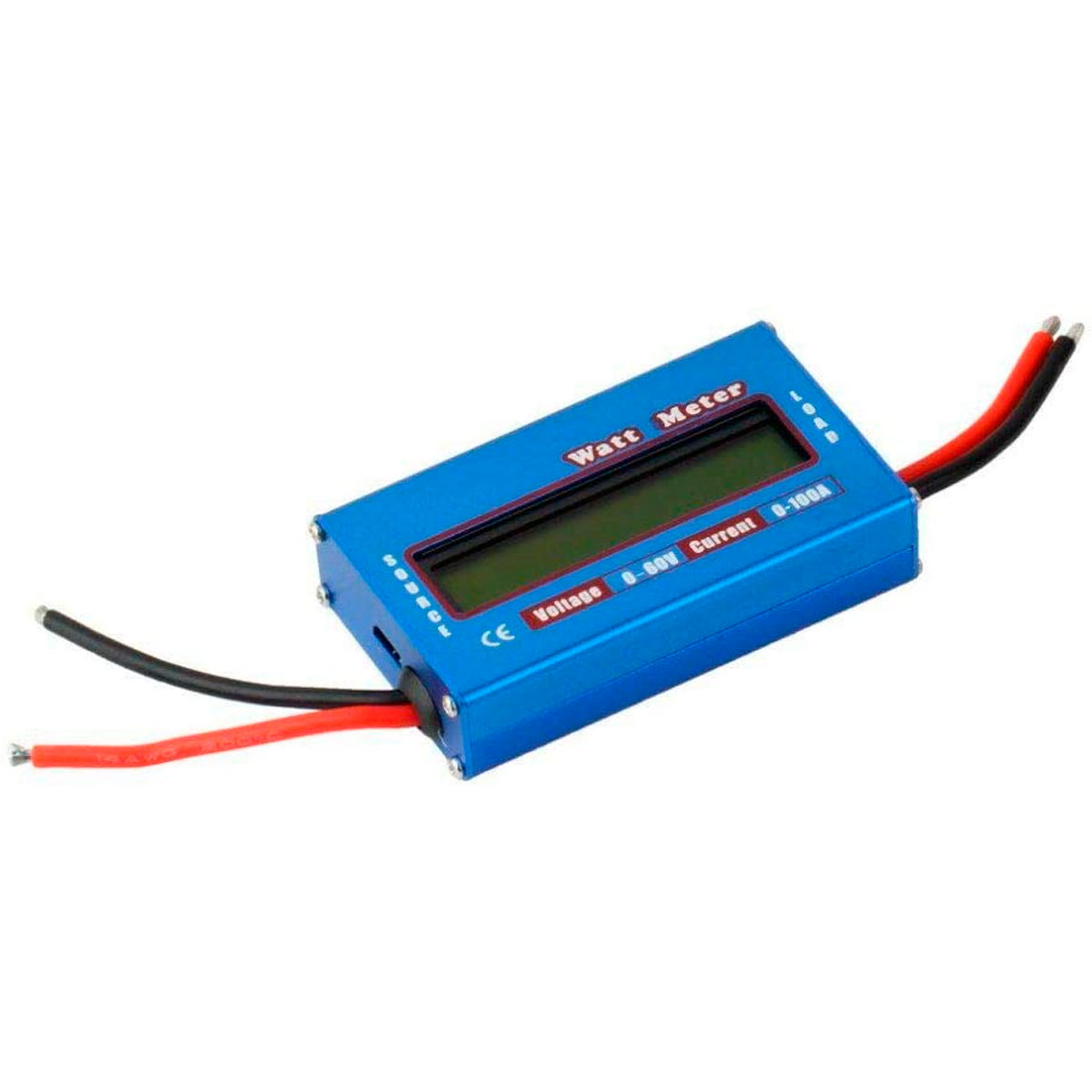 Wattimetro DC 4,5v a 60v Voltimetro e Amperimetro 0 a 100A