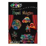 Papel Magico Desenho Livre A4 Multicolor com caneta para desenhar