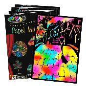 Papel Magico Desenho Livre A4 Multicolor com caneta 20 folhas