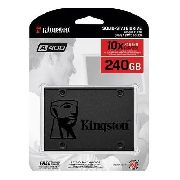 - Hd Ssd Kingston A400 240gb Sata 3 Sa400s37 - 10x Mais Rapido