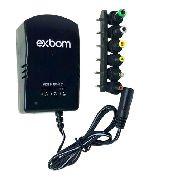 - Fonte Universal Bivolt (110-240v) Regulagem 30w Com 6 Plugs