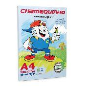 Papel sulfite A4 Chamequinho 75g 210mm x 297mm 100 folhas