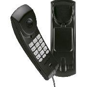 Telefone Gôndola Preto Intelbras Tc 20 Mesa Parede, Com Flo