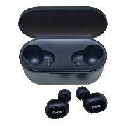 Fone De Ouvido Sem Fio Tws Kingo T202 Bluetooth 5.0 Preto