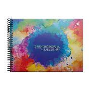Caderno Espiral Para Desenho Com Capa Dura 96 Folhas