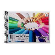 Caderno Espiral Cartografia E Desenho - Lápis - 96 Folhas