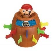 Brinquedo Jodo do Barril do Pula Pirata com 16 adagas