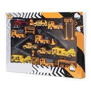 Brinquedo MIniaturas Veículos P/ Construções e Obras Amarelo