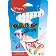 Caneta Brush Pincel Com 10 Cores Color Peps - Maped