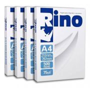 Papel sulfite A4 rino Office 75g 210mm x 297mm 2500 folhas
