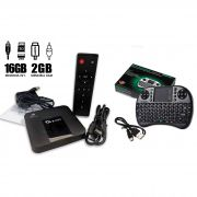 Tv Box Tx3 Mini 4k 2gb Ram 16gb Rom Original + Mini Teclado Bluetooth
