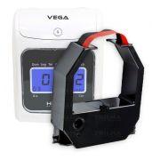 Fita De Impressão Para Relógio Trix E Vega Azul 945