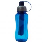 Garrafa De Plástico Com Bastão Congelante 600ml Squeeze