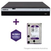 Dvr Stand Alone 16 Canais 3016 Full Hd + HD Purple 3TB 1080p Intelbras Multi