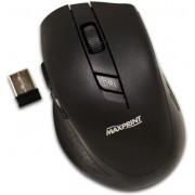 Mouse Óptico Sem Fio 5 Botões Preto