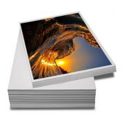 Papel foto A4 180g glossy papel fotográfico brilhante resistente a água 50 folhas