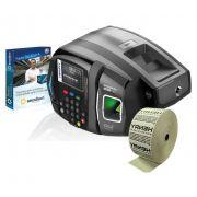Relógio de ponto biométrico Henry Prisma R2 Advanced + Secullum ponto 4