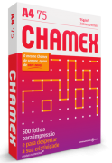 Papel sulfite A4 Chamex Office 75g 210mm x 297mm 500 folhas