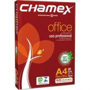 Resma de PAPEL SULFITE CHAMEX A4 OFFICE 210 X 297 75G - Branco 500 folhas