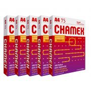 Papel sulfite A4 Chamex Office 75g 210mm x 297mm 2500 folhas