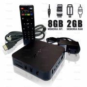 Tv Box 4k Ultra Hd 2gb Ram E 8gb Interno Android 7.1.2 - Hd H.265 Hevc